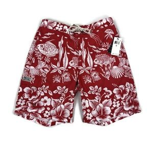 Polo Ralph Lauren Mens Swim Suit Trunks Fish